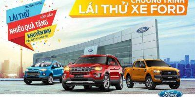Chương trình lái thử xe new Ecosport 2018 ngày 25/3/2018